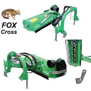 Косилка Peruzzo FOX Cross с регулируемым углом наклона